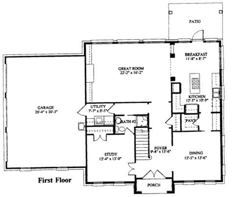 southern style floor plans southern style house plan 5 beds 3 baths 2762 sq ft plan