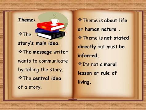 good themes of a story theme and short story