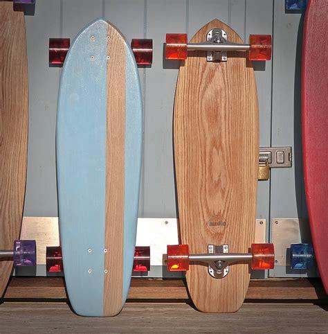 Handmade Longboards - personalised handmade ash 70 s skateboard by nudie boards