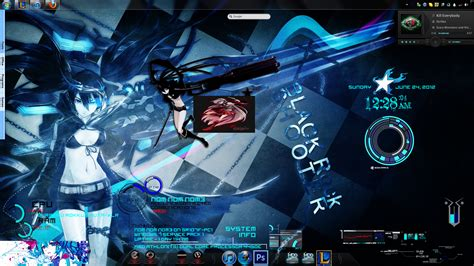 black rock shooter rainmeter skin black rock shooter by nom nom nom3 on deviantart