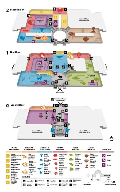the colored museum pdf floors plans plan your visit smithsonian national museum
