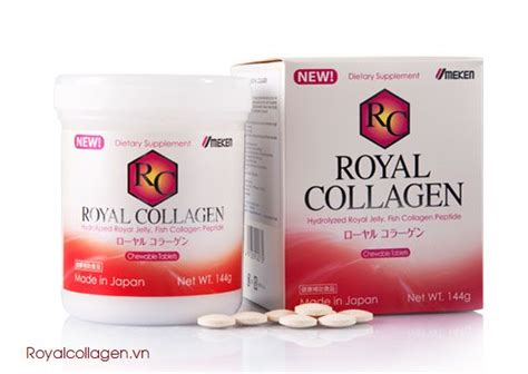 Royal Collagen diem noi bat cua royal collagen