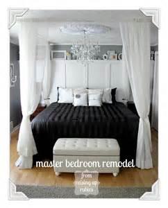 black and white master bedroom remodelaholic black and white master bedroom reveal