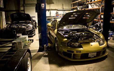 toyota shop garage