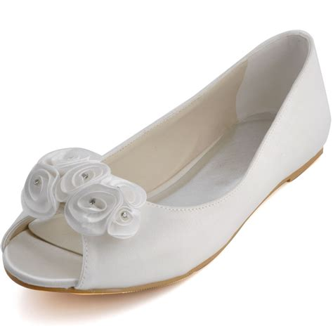 S Wedding Flats by Wedding Flats And Ballerinas For Brides Wardrobelooks