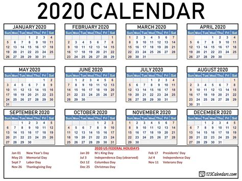 calendar  printable  holidays  letter templates