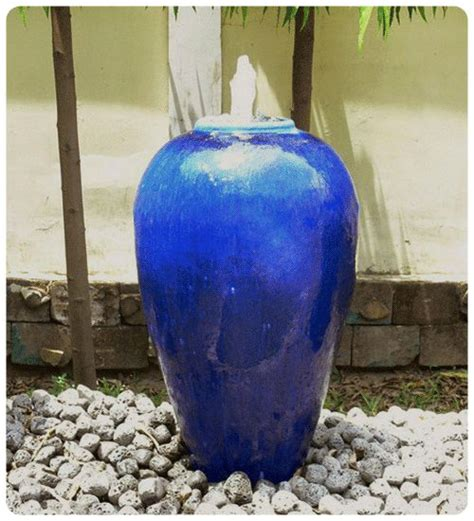 barrel planter with 3 pots resin water feature 17 best ideas about large garden pots on