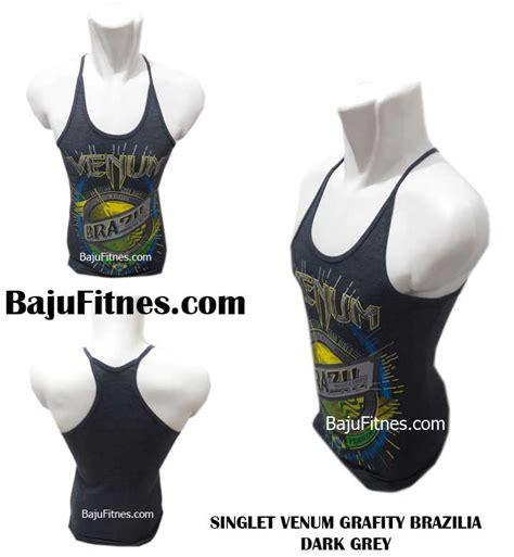 Kaos Olahraga Tali Kecil Singlet Venum Mma Grey Black 089506541896 tri model gold baju olahraga