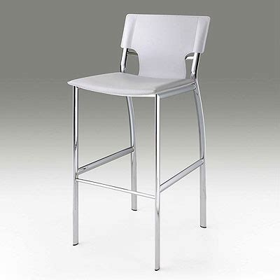 white leather kitchen bar stools white leather bar stool cr121 bar stools