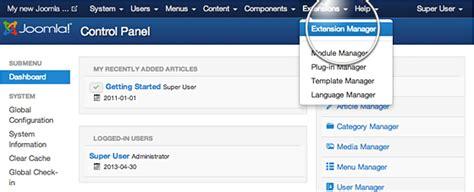 tutorial joomla plugin how to install joomla extensions tutorial