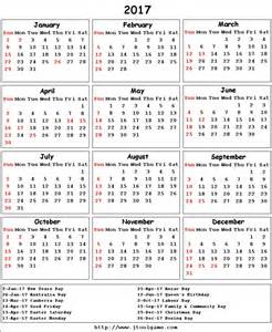 Nigeria Kalendar 2018 2017 Calendar Printable Calendar 2017 Calendar In