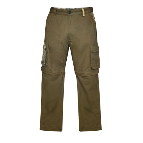realtree s ripstop zip leg cargo