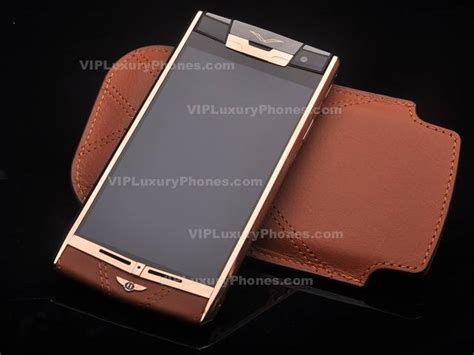 Vertu Bentley Phone Price Buy Luxury Vertu Gold Smartphone