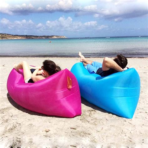 inflatable beach bed aliexpress com buy lazy sofa beach bed fast inflatable