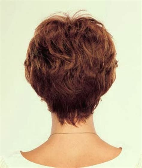 over 50 short hairstyle front and back views short hairstyles back view over 50