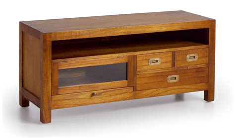 mueble colonial mueble tv 3 cajones colonial star y caj 243 n deslizante en
