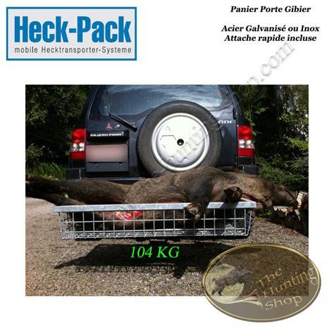 Remorque Panier Porte Voiture by Heck Pack Panier Porte Gibier Attache Rapide Pour Attelage