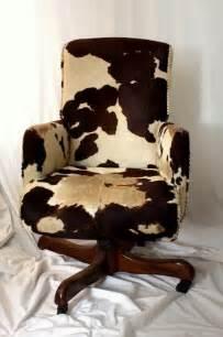 Brown Cowhide Desk Chair Hank Snow Cowhide Swivel Chair Brown White Cow Hide