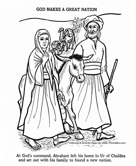 abraham coloring pages sunday school abraham coloring page old testament coloring pages