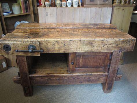vintage work bench kitchen centre island old work bench antiques atlas