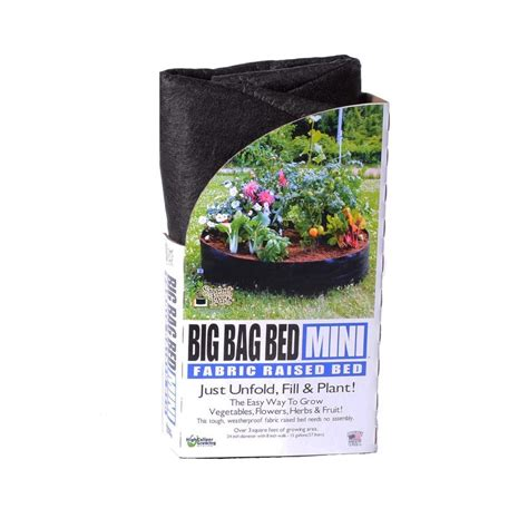 big bag bed big bag bed mini raised garden bed 12015 the home depot