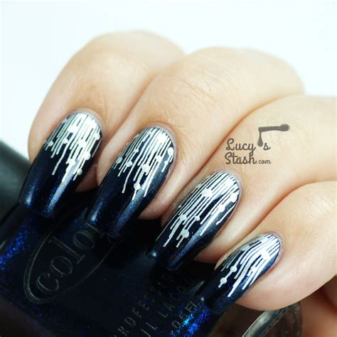 new year pedicure design new years look fireworks inspired nail s stash