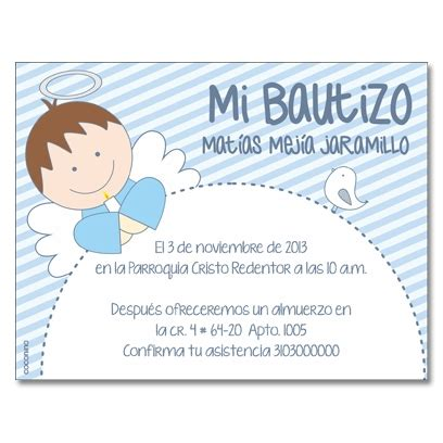 tarjetas de bautizo para nino invitaciones bautizo fotos ideas para imprimir foto 14 invitaciones de bautizo