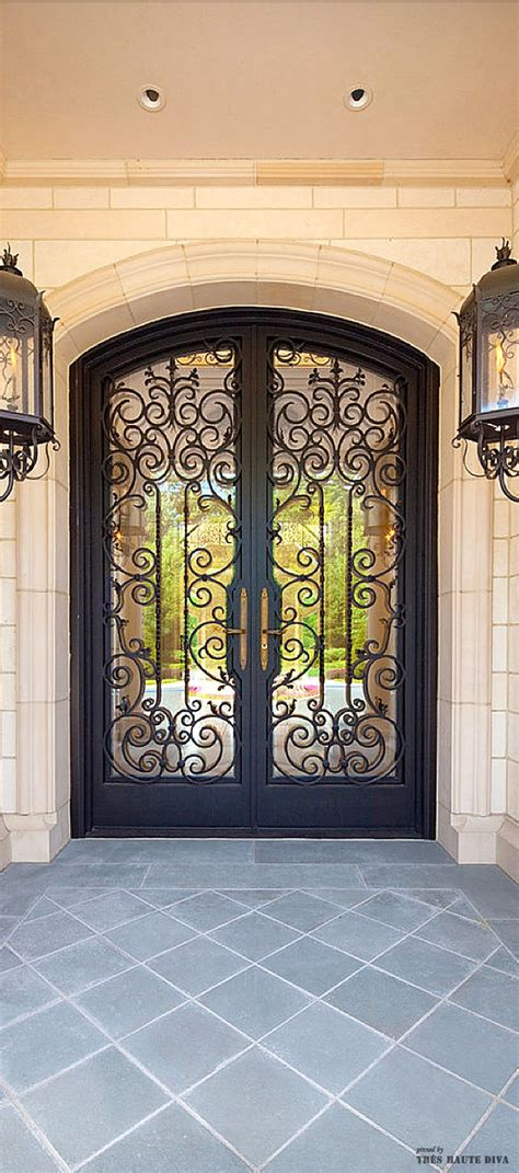custom front doors dallas iron front door picture forged wrought iron front