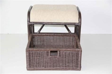 basket ottoman krit ottoman stool with basket rattan usa
