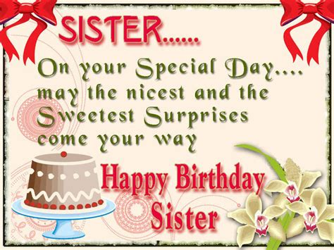 Happy Birthday For Wishes Happy Birthday Wishes For Sister Sayingimages Com