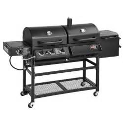 Backyard Grill Gas Charcoal Combination Grill Hybrid Gas And Charcoal Grill Bbq Smoker Box Combo Barbeque Burner Side Portable Ebay