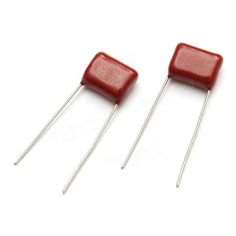 kapasitor 100nf 400v 10pcs cbb capacitor 104 400v 104j 0 1uf 100nf p10 cl21 metallized polypropylene capacitor