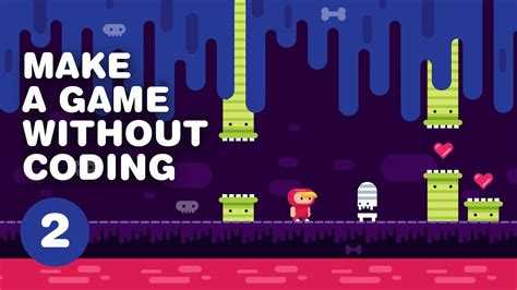 video tutorial construct 2 how to make a video game without coding 2d platformer
