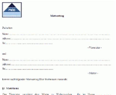 mietverträge wohnung kostenlos mietvertrag vorlage kostenlos runterladen und ausdrucken