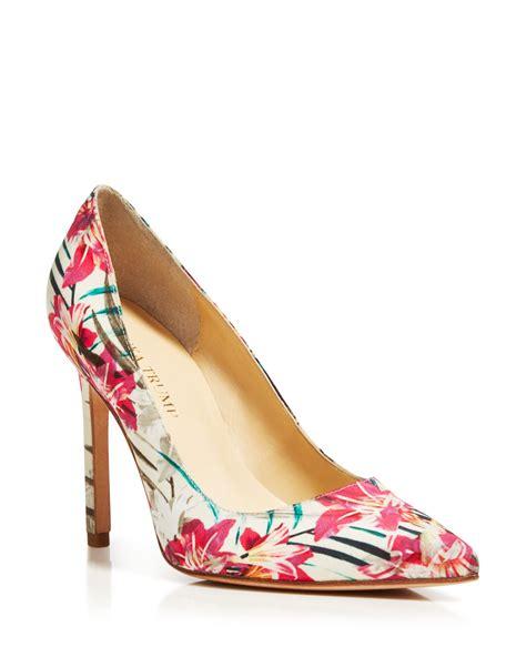 multicolor high heels ivanka pointed toe pumps carra high heel in