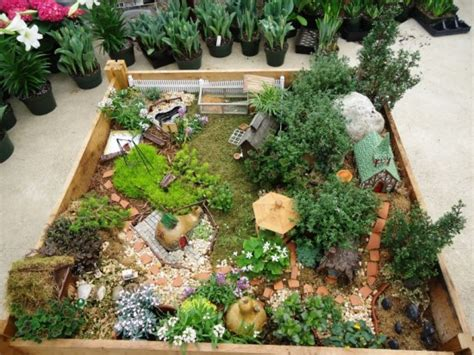 Miniature Garden Decor 45 Miniature Garden Decorations Ultimate Home Ideas