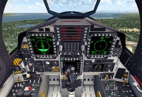 F-15 Enhanced Engine Monitor Display (EEMD) - Driven ... F 15 Cockpit