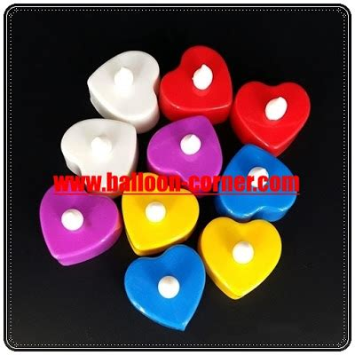 lilin elektrik bulat contoh aplikasi led smokeless candle lilin led balloon