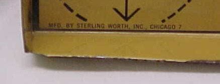 shoe salesman s advertising tin foot measure from