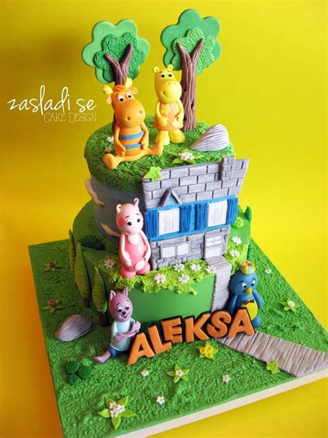 the backyardigans cake children s birthday cakes