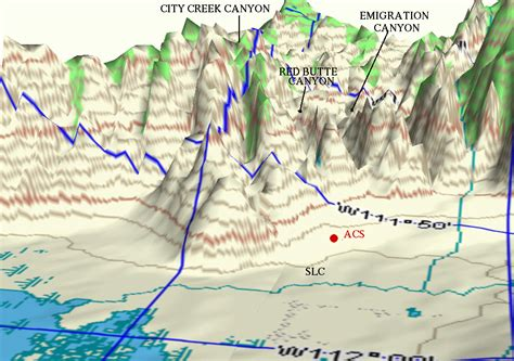 wasatch mountains map answers labeled photograph or illustration of