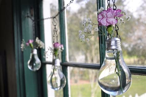 Hanging Light Bulb Vase by 20 Brilliant Ways To Repurpose Lightbulbs Brit Co