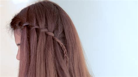 waterfalls cascade braids step by step how to make a cascade waterfall braid 10 steps with
