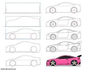 How To Draw A Blueprint Simple Drawing Steps Car Pictures Car Canyon