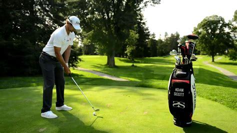 scott swing adam scott par 3 masterclass golfing world golf channel