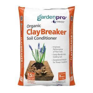 home depot garden soil garden pro 2 cu ft claybreaker soil conditioner clay2g