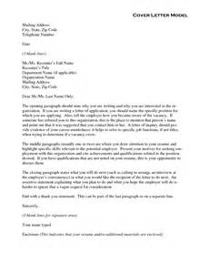 Model Covering Letter by Business Letters Models How Write Roofing Inspector