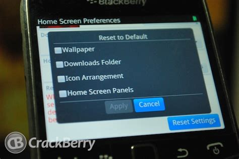 reset blackberry smartphone how to restore default settings on your blackberry