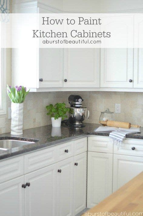 how to paint kitchen cabinets beautiful how to paint