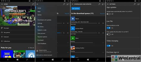 Windows 10 Mobile Store App Removes Fluent Design With The | windows 10 mobile store app removes fluent design with the